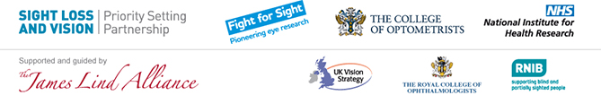Sight Loss and Vision Priority Setting Partnership